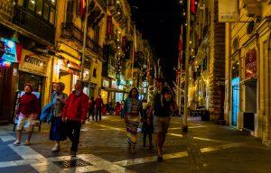 Valletta Abend