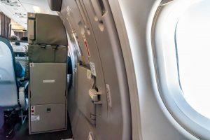Sitz im Airbus